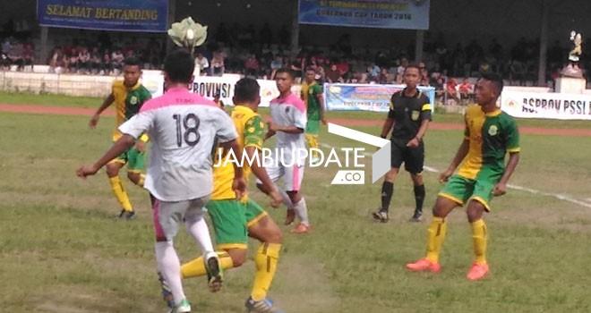 Final Guberur Cup Jambi 2016 antara Tanjabtim kontra Tebo sore ini (24/1) di KONI Jambi