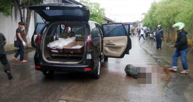 Dua pelaku pengedar narkoba jaringan internasional yang tewas ditembak aparat BNN. Foto : Ist