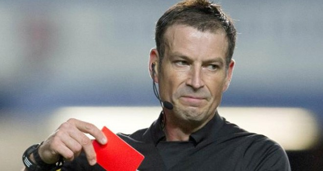 Mark Clattenburg. Foto: AFP