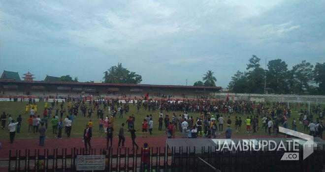 Kota Jambi lolos ke final setelah menang adu penalti dengan Merangin.