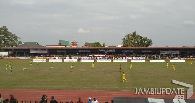 Final Gubernur Cup 2017, Kota Jambi vs Batanghari.