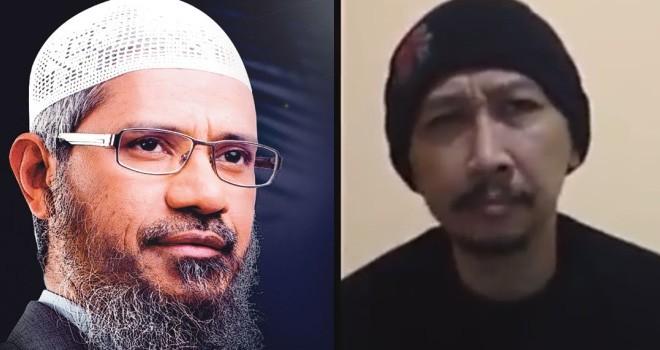 Dr Zakir Naik dan Abu Janda.