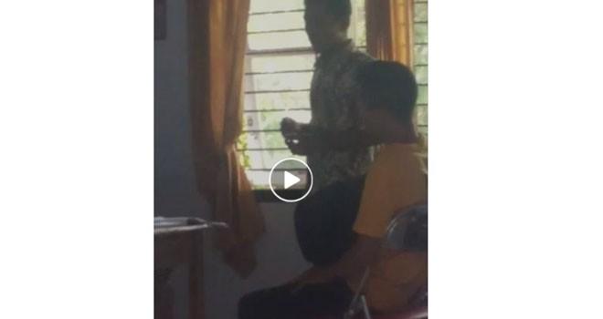 Video pungli di Puskesmas yang beredar di Facebook.
