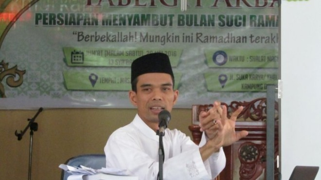 Datang ke Jambi, Ustadz Abdul Somad Akan Ceramah di Balai ...