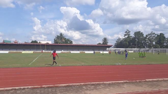 Gubernur Cup 2018, Batanghari Vs Muarojambi, Senin (8/1).