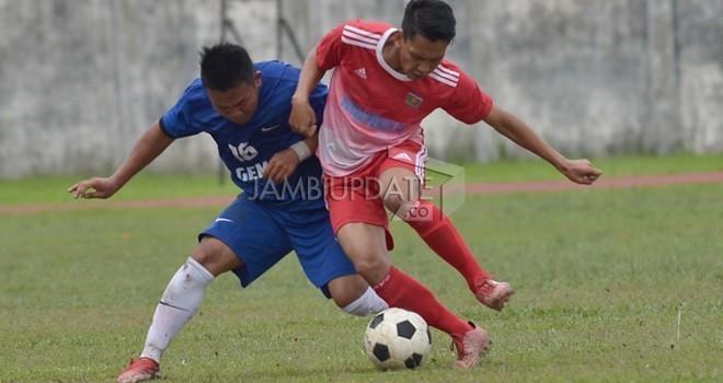 Pertandingan Gubenur Cup 2018, Kerinci kontra Sungai Penuh beberapa waktu lalu.