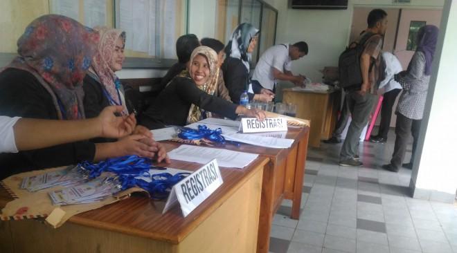 181 Calon Anggota KPU Kabupaten Ikuti Tes Tertulis.