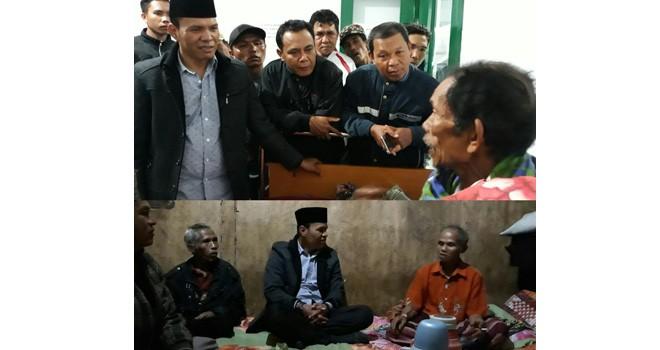 Turun Langsung ke Tamiai Melihat Kondisi Syukur, Zainal Abidin Teteskan Air Mata.