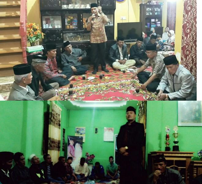 Zainal Abidin dan Arsal Apri saat sosialisasi bersama masyarakat.