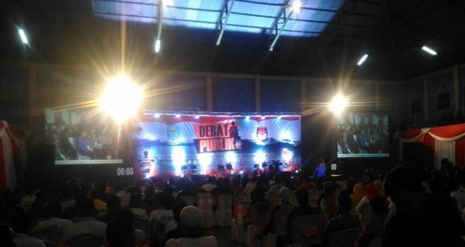 Debat kandidat calon Bupati dan calon Wakil Bupati Kerinci tahun 2018.
