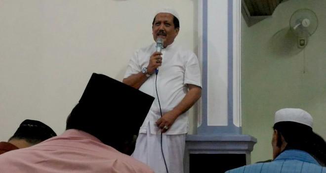 Safari ramadan Anggota DPRD Provinsi Jambi, H. Zainal Abidin.
