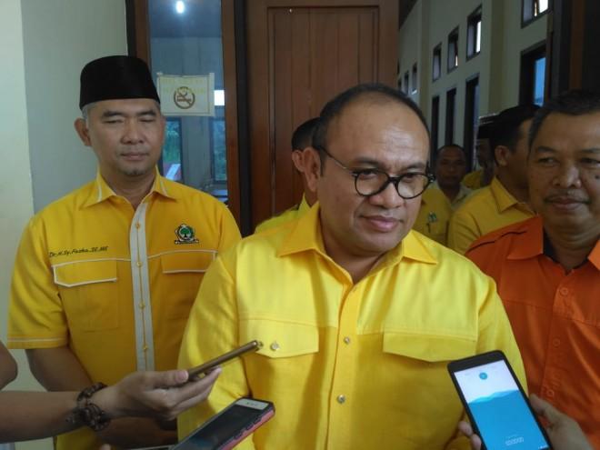 Plt Ketua DPD I Golkar Jambi, Taufiq Hidayat.