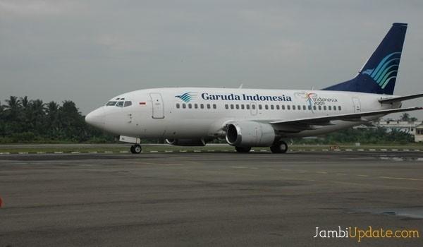 Pesawat Garuda.
