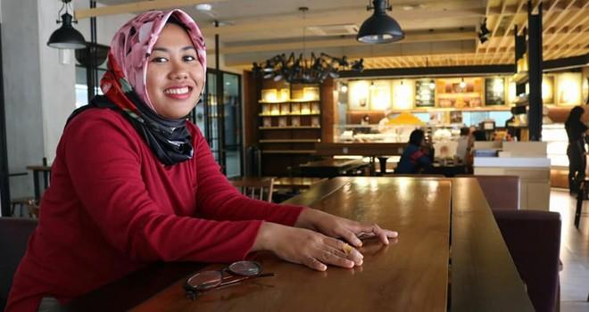 Wartawan Jambi Ekspres Tuyani.