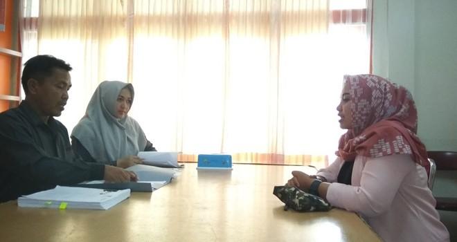 Penerimaan berkas pendaftaran di kantor KPU Provinsi Jambi
