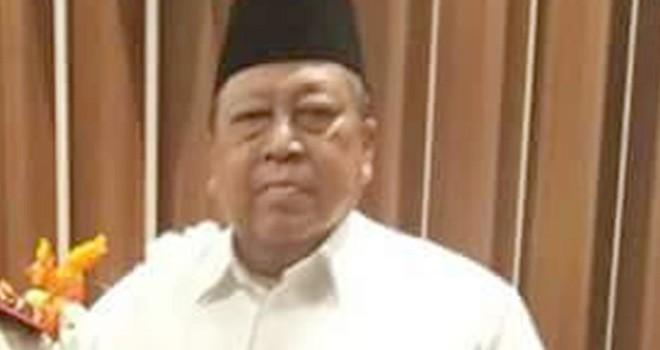 Politisi senior partai berlambang pohon beringin, Abdurrahman Albani semasa hidup.