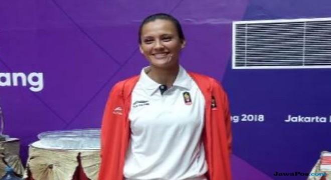 Atlet jujitsu putri Simone Julia (Isa Bustomi/JawaPos.com)