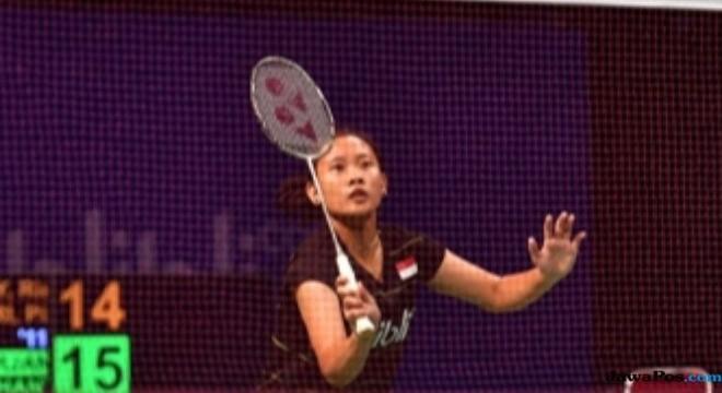 Ganda putri Phita Haningtyas Mentari (foto)/Virni Putri lolos dari babak kualifikasi Vietnam Terbuka 2018 (Dok PBSI)