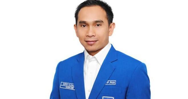 Wasekjen DPP PAN Dipo Ilham Djlil.