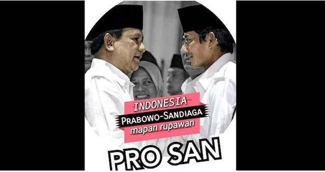 Prabowo Subianto-Sandiaga Uno. Foto :Net