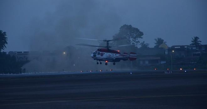 Helikopter Water Bombing.