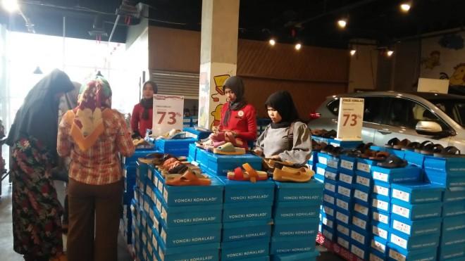 Matahari Departement Store Lippo Plaza memberikan penawaran special di Hari Kemerdekaan Indonesia ke-73.