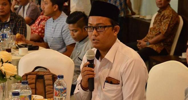 Fachrul Rozi Pimpinan Bawaslu Provinsi Jambi.