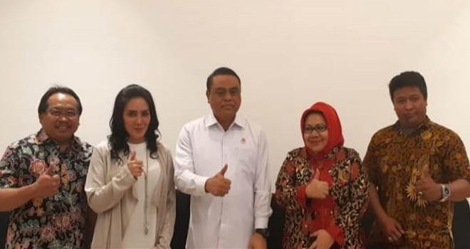 DPN ADKASI bertemu Menpan-RB Syafruddin.