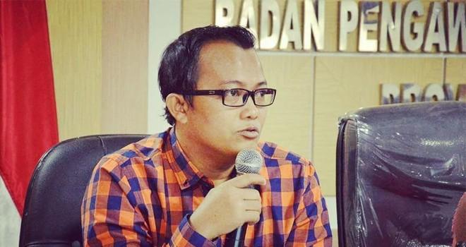 Pimpinan Bawaslu Provinsi Jambi Fachrul Rozi