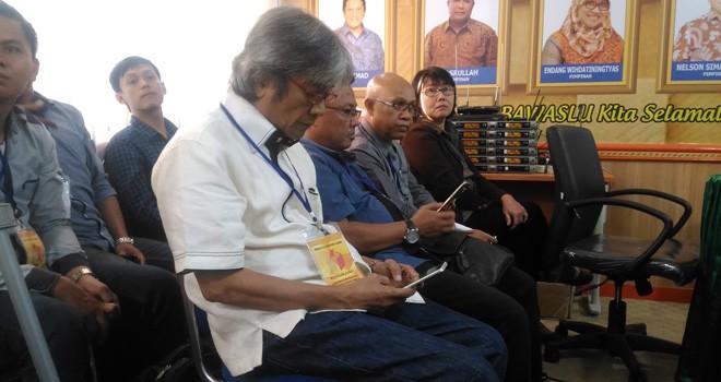 Nasrullah Hamka menghadiri sidang putusan ajudikasi sengketa pemilu yang diajukan PBB terkait mantan narapidana korupsi beberapa waktu lalu.