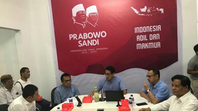 Drs H.A Murady Darmansyah saat mengikuti rapat tim pemenangan Capres dan Cawapres Prabowo Sandi di Jakarta beberapa hari lalu.