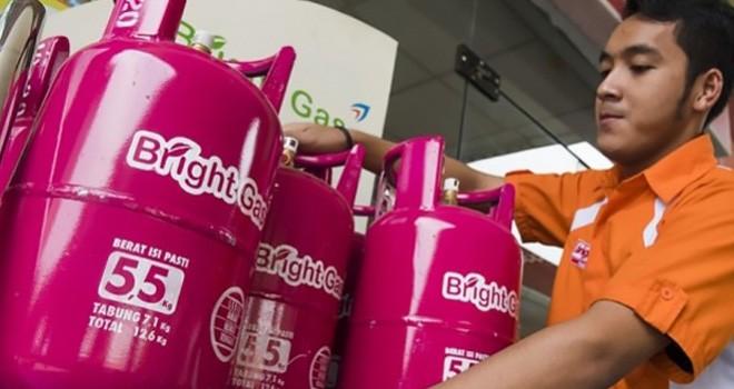 Tukarkan tabung gas LPG 3 Kg menjadi Bright Gas 5.5 Kg dengan harga spesial.