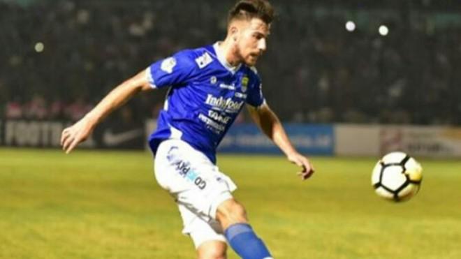 Striker Persib Bandung, Jonathan Bauman (Instagram @jonibauman)