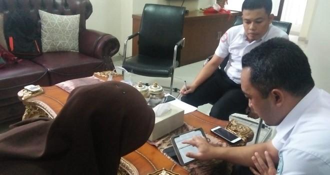 Kabid Penjaminan Manfaat Rujukan BPJS Kesehatan Jambi, Timbang Pamekas Jati menjelaskan aplikasi rujukan online primary care (PCare).
