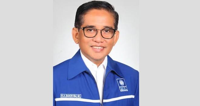 Ketua DPW PAN Provinsi Jambi H Bakri.