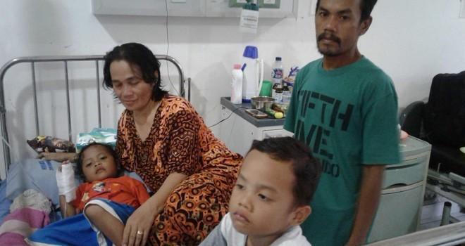 Warga Jambi korban gempa dan tsunami Palu.