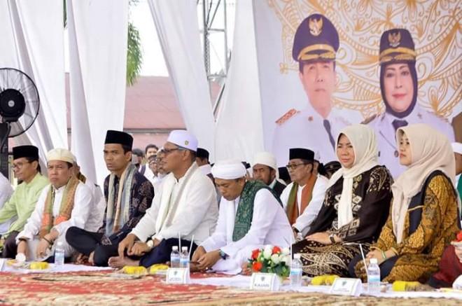 Tabligh Akbar Pemkab Batang Hari bersama Ust.Abdul Somad Lc Ma.