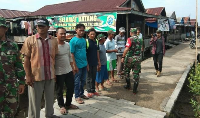 Kegiatan-kegiatan yang menjadi Program TNI Manunggal Membangun Desa (TMMD).
