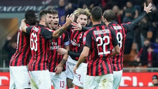 AC Milan menang 2-1 atas Genoa (Twitter @ACMilan)
