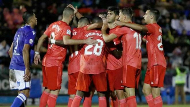 Real Madrid menang 4-0 atas Melilla (Dok. Real Madrid)