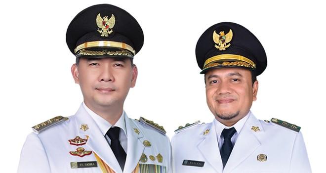 Wali Kota dan Wakil Wali Kota Jambi terpilih periode 2018-2023, Sy Fasha- Maulana.