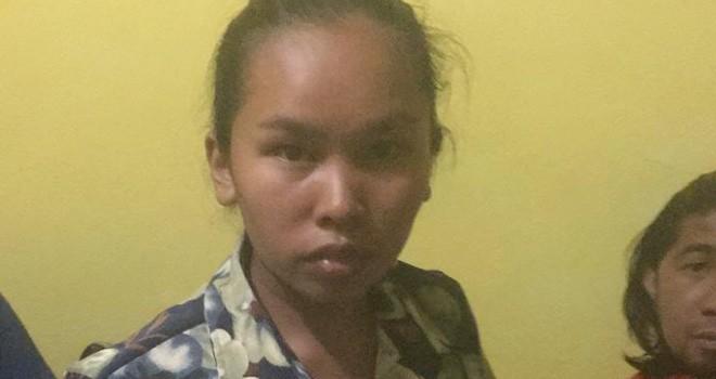 pelaku perampokan Layli Maryani (23) warga Desa Pondok Sungai Abu, Kecamatan Air Hangat Timur.