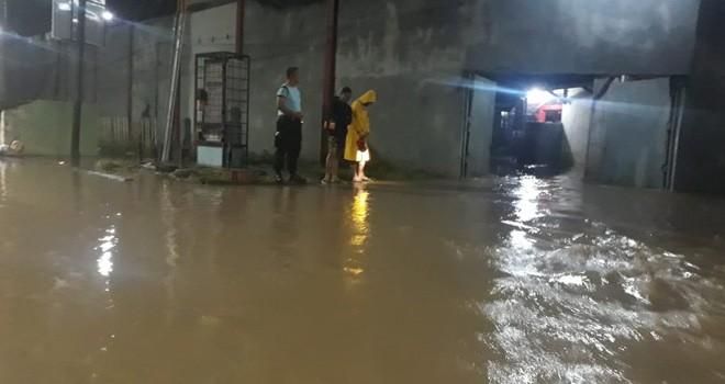 Terlihat Banjir di Lapas Jambi.
