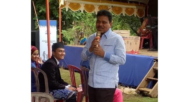 Anggota Komisi IX DPR RI, H Handayani SKM.,MPH, asal Jambi berikan Penguatan advokasi dan KIE kepada masyarakat.
