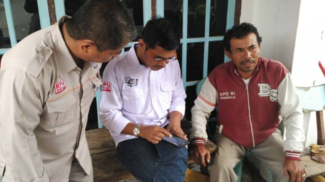PEMILU : Komisi Pemilihan Umum (KPU) Provinsi Jambi melakukan pengecekan data pemilih ketika turun ke Kabupaten/kota.
