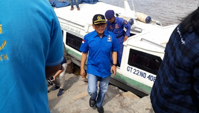 H Bakri saat berada di Kuala Tungkal. Foto : Ist For Jambi Update
