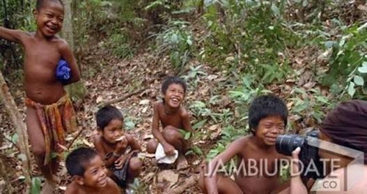 Suku Anak Dalam. Foto : Dok Jambi Update