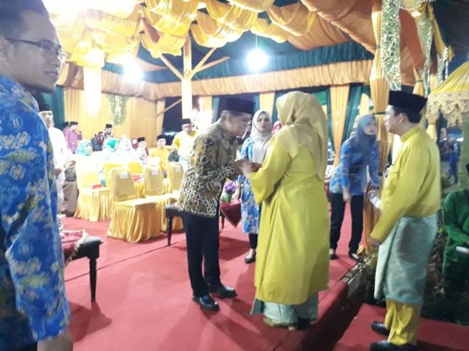 H Bakri saat menghadiri Kegiatan Keagamaan Pemkab Muaro Jambi. Foto : Ist