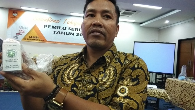 Komisioner KPU Provinsi Jambi, Apnizal. Foto : Safwan / Jambi Update