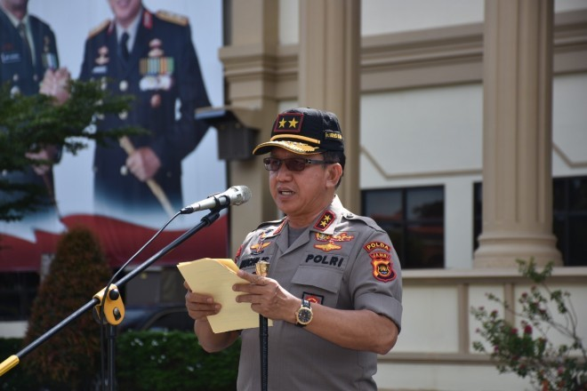 Kapolda Jambi, Irjen Pol Drs Muchlis AS.